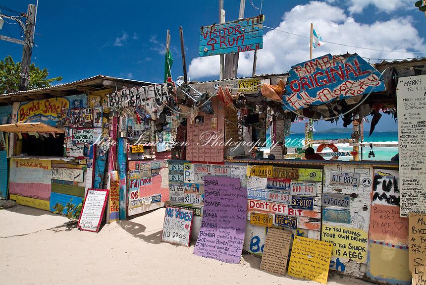 Bomba's Surf Shack home of the Full Moon Party.Tortola, BVI