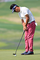 Yuta Ikeda (JPN) in action during the third round of the Volvo China Open played at Topwin Golf and Country Club, Huairou, Beijing, China 26-29 April 2018.<br /> 28/04/2018.<br /> Picture: Golffile | Phil Inglis<br /> <br /> <br /> All photo usage must carry mandatory copyright credit (&copy; Golffile | Phil Inglis)