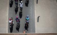 peloton. <br /> <br /> 94th Schaal Sels 2019<br /> One Day Race: Merksem  >  Merksem  (UCI 1.1)<br /> ©kramon