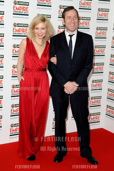 Myanna Buring and Michael Smiley arriving for the Empire Film Awards 2012 at the Grosvenor House Hotel, London. 25/03/2012 Picture by: Steve Vas / Featureflash