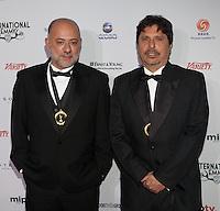NEW YORK, NY - NOVEMBER 19: Claudio Torres and Mauro Wilson at the 40th International Emmy Awards in New York. November 19, 2012. © Diego Corredor/MediaPunch Inc. /NortePhoto