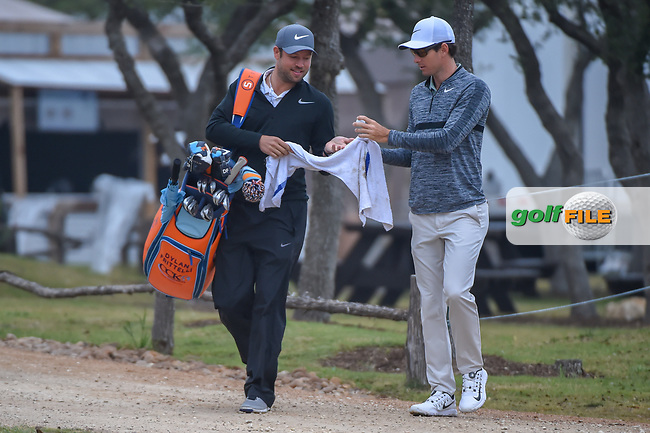 Dylan Frittelli (RSA) approaches the 10th tee during Round 3 of the Valero Texas Open, AT&T Oaks Course, TPC San Antonio, San Antonio, Texas, USA. 4/21/2018.<br /> Picture: Golffile   Ken Murray<br /> <br /> <br /> All photo usage must carry mandatory copyright credit (© Golffile   Ken Murray)