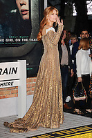 Haley Bennett<br /> at the premiere of &quot;The Girl on the Train&quot;, Odeon Leicester Square, London.<br /> <br /> <br /> &copy;Ash Knotek  D3156  20/09/2016