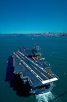 USS Enterprise aircraft carrier enters San Francisco Bay