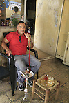 Israel, Jerusalem, nargila and tea at the Old City