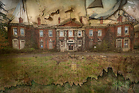 Exterior of West Park Asylum, Epsom, Surrey