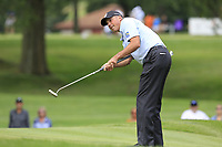 Matt Kuchar (USA) putts on the 2nd green during Sunday's Final Round of the WGC Bridgestone Invitational 2017 held at Firestone Country Club, Akron, USA. 6th August 2017.<br /> Picture: Eoin Clarke | Golffile<br /> <br /> <br /> All photos usage must carry mandatory copyright credit (&copy; Golffile | Eoin Clarke)