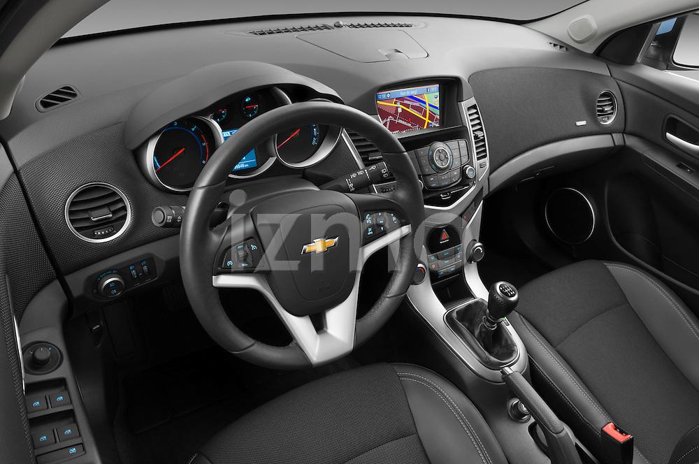 2013 Chevrolet Cruze SW LTZ wagon High angle dashboard view Stock Photo