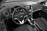 2013 Chevrolet Cruze SW LTZ wagon High angle dashboard view Stock Photo