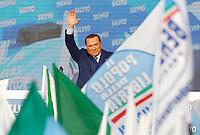 20130323 ROMA-POLITICA: BERLUSCONI IN PIAZZA CONTRO TASSE, BUROCRAZIA E GIUDICI