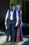 "Corey Cott and Laura Osnes performing during the MCP Production of ""The Scarlet Pimpernel"" Concert at the David Geffen Hall on February 18, 2019 in New York City."