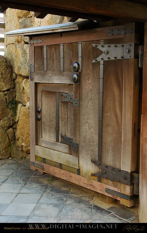 Himeji Castle Gate detail Third Water Gate Shirasagi-jo White Heron Castle Himeji Japan