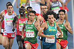 Jacques Yeltsin (BRA), <br /> SEPTEMBER 11, 2016 - Athletics : <br /> Men's 1500m T13 Final <br /> at Olympic Stadium<br /> during the Rio 2016 Paralympic Games in Rio de Janeiro, Brazil.<br /> (Photo by AFLO SPORT)