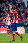 Diego Costa of Atletico de Madrid reacts during the La Liga 2017-18 match between Atletico de Madrid and Girona FC at Wanda Metropolitano on 20 January 2018 in Madrid, Spain. Photo by Diego Gonzalez / Power Sport Images