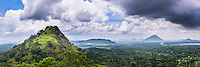 Panoramic photo of the view from Dambulla Cave Temples, Dambulla, Central Province, Sri Lanka, Asia. This is a panoramic photo of the view from Dambulla Cave Temples, Dambulla, Central Province, Sri Lanka, Asia.