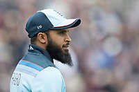 Adil Rashid (England) during England vs West Indies, ICC World Cup Cricket at the Hampshire Bowl on 14th June 2019
