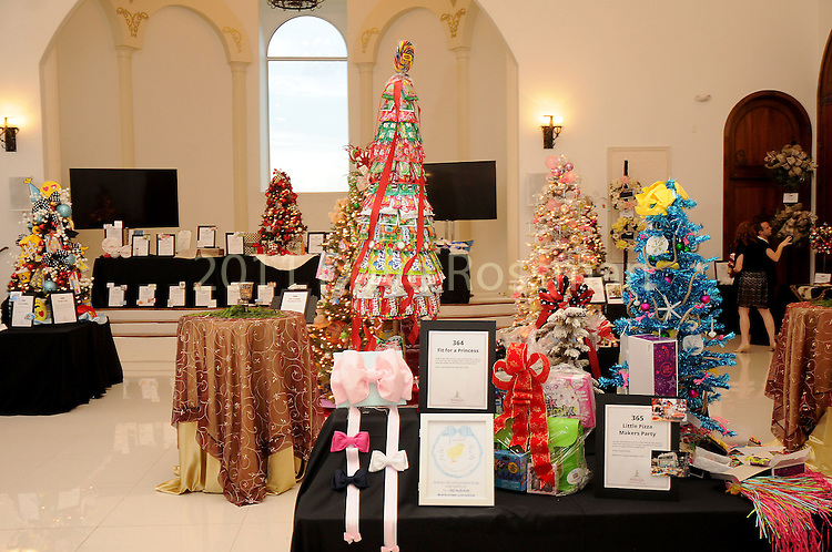 Auction items at the 27th annual Trees of Hope Holiday Gala at The Citadel on Kirby Friday Oct. 04,2016.(Dave Rossman photo)