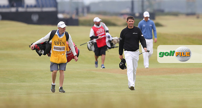 Padraig Harrington (IRL) sets the pace at -10 during Round Three (Sunday) at the 144th Open, played at the Old Course, St Andrews, Scotland. /19/07/2015/. Picture: Golffile | David Lloyd<br /> <br /> All photos usage must carry mandatory copyright credit (&copy; Golffile | David Lloyd)