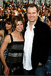 "HOLLYWOOD, CA. - April 30: Jack Coleman and wife arrives at the Los Angeles premiere of ""Star Trek"" at the Grauman's Chinese Theater on April 30, 2009 in Hollywood, California."