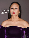 LOS ANGELES, CA - NOVEMBER 04: Co-host Eva Chow attends the 2017 LACMA Art + Film Gala Honoring Mark Bradford and George Lucas presented by Gucci at LACMA on November 4, 2017 in Los Angeles, California.