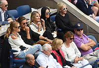 FLUSHING NY- SEPTEMBER 10: Nina Agdal, Jack Brinkley Cook, Christie Brinkley and Vera Wang at the US Open Men's Final Championship match at the USTA Billie Jean King National Tennis Center on September 10, 2017 in Flushing, Queens. <br /> CAP/MPI/PAL<br /> &copy;PAL/MPI/Capital Pictures