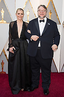 Oscar&reg; nominee for Best Director and Best Picture, Guillermo del Toro and Kim Morgan and arrive on the red carpet of The 90th Oscars&reg; at the Dolby&reg; Theatre in Hollywood, CA on Sunday, March 4, 2018.<br /> *Editorial Use Only*<br /> CAP/PLF/AMPAS<br /> Supplied by Capital Pictures