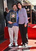 LOS ANGELES, CA. September 18, 2018: Jack Black & sister Rachel Black at the Hollywood Walk of Fame Star Ceremony honoring actor Jack Black.