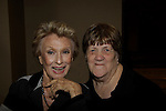 Sue Coflin poses with Cloris Leachman (mom to Morgan Englund - GL)  attended Chiller Theatre Spring Extravaganza was held on April 27, 2014 at the Parsippany Sheraton Hotel in Parsippany, New Jersey.  (Photo by Sue Coflin/Max Photos)