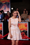 LOS ANGELES, CA - FEB 22: Makenzie Vega at the world premiere of 'John Carter' on February 22, 2012 at Regal Cinemas in downtown in Los Angeles, California