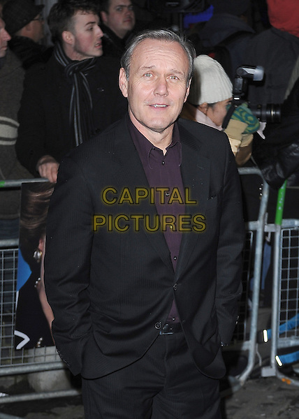 Anthony Head.'The Iron Lady' European Film Premiere at BFI cinema, Southbank, London, England..4th January 2012.half length suit jacket black maroon burgundy shirt  hands in pockets .CAP/BEL.©Tom Belcher/Capital Pictures.