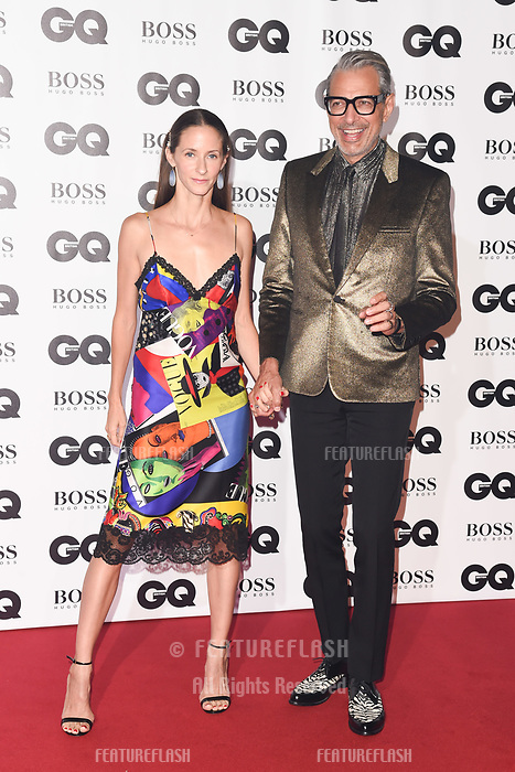LONDON, UK. September 05, 2018: Jeff Goldblum at the GQ Men of the Year Awards 2018 at the Tate Modern, London
