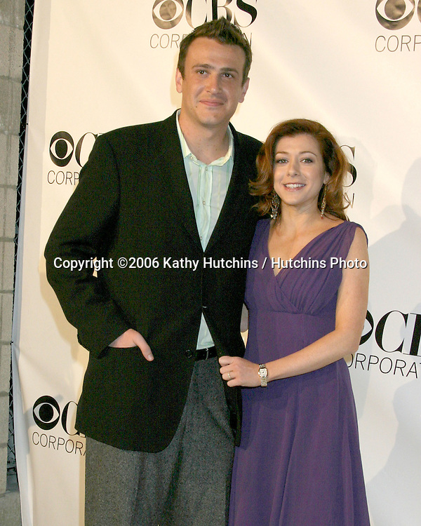 Jason Segal.Alyson Hannigan.CBS TV TCA Party.The Wind Tunnel.Pasadena, CA.January 18, 2006.©2006 Kathy Hutchins / Hutchins Photo....