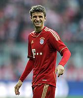 FUSSBALL   1. BUNDESLIGA  SAISON 2011/2012   11. Spieltag FC Bayern Muenchen - FC Nuernberg        29.10.2011 Thomas Mueller (FC Bayern Muenchen)