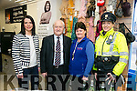 At the  official  Opening of St Vincent De Paul Shop Vincent's on Monday were l-r  Maeve Lynch, Manager, Christy Lynch, Regional PresidentTeresa Lynch, Volunteer and Garda Irene Riordan.