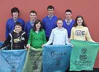 Presentation Secondary School, Miltown students  who took part in An Taisce Clean-Up of  the Miltown Area . The event was organised by the Student<br />