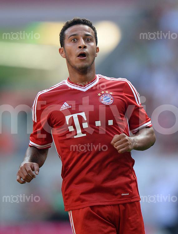 FUSSBALL   1. BUNDESLIGA   SAISON 2013/2014   TELEKOM CUP  FC Bayern Muenchen - Hamburger SV                     20.07.2013 Thiago Alcantara (FC Bayern Muenchen)
