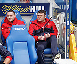 Graeme Murty in the dugout