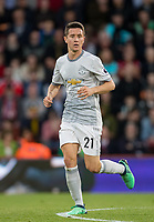 Ander Herrera of Man Utd during the Premier League match between Bournemouth and Manchester United at the Goldsands Stadium, Bournemouth, England on 18 April 2018. Photo by Andy Rowland.