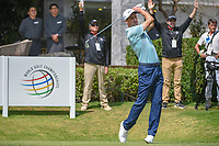 Ross Fisher (ENG) watches his tee shot on 10 during round 2 of the World Golf Championships, Mexico, Club De Golf Chapultepec, Mexico City, Mexico. 3/2/2018.<br /> Picture: Golffile | Ken Murray<br /> <br /> <br /> All photo usage must carry mandatory copyright credit (&copy; Golffile | Ken Murray)