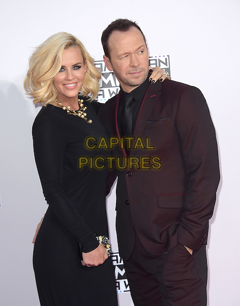 Jenny McCarthy and Donnie Wahlberg at The 2014 American Music Award held at The Nokia Theatre L.A. Live in Los Angeles, California on November 23,2014                                                                                <br /> CAP/RKE/DVS<br /> &copy;DVS/RockinExposures/Capital Pictures