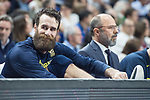 Fenerbahce Dogus Luigi Datome during Turkish Airlines Euroleague match between Real Madrid and Fenerbahce Dogus at Wizink Center in Madrid , Spain. March 02, 2018. (ALTERPHOTOS/Borja B.Hojas)