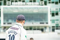 Picture by Allan McKenzie/SWpix.com - 20/04/2018 - Cricket - Specsavers County Championship - Yorkshire County Cricket Club v Nottinghamshire County Cricket Club - Emerald Headingley Stadium, Leeds, England - Gary Ballance, Carnegie Pavillion.