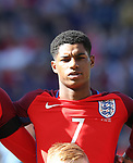 England's Marcus Rashford in action during the FIFA World Cup Qualifying match at Hampden Park Stadium, Glasgow Picture date 10th June 2017. Picture credit should read: David Klein/Sportimage