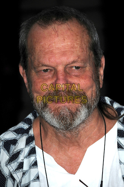 "TERRY GILLIAM.The ""Hellboy II: The Golden Army "" FilmFour Summer Screen Opening Gala, Somerset House, London, England..July 31st 2008.2 hell boy screening premiere headshot portrait beard facial hair .CAP/CAS.©Bob Cass/Capital Pictures."