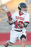 Redondo Beach, CA 05/11/10 - Zack Henkhaus (PV # 12) in action during the 2010 Los Angeles Boys Lacrosse championship game, Mira Costa defeated Palos Verdes 12-10 at Redondo Union High School.
