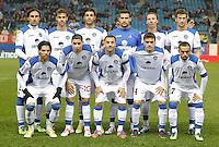 Getafe's team photo during King's Cup match. December 12, 2012. (ALTERPHOTOS/Alvaro Hernandez) /NortePhoto