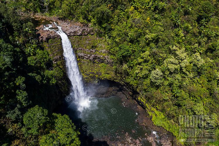 'Akaka Iki Falls, Big Island of Hawai'i.