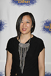 """Young Jean Lee at the Opening Night party of Signature Theatre Company's """"The Illusion"""" on June 5, 2001 at the West Bank Cafe with the play at the Peter Norton Space, New York City, New York.  (Photo by Sue Coflin/Max Photos)"""