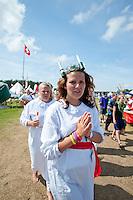 From the cultural festival day. Photo: Christoffer Munkestam/Scouterna
