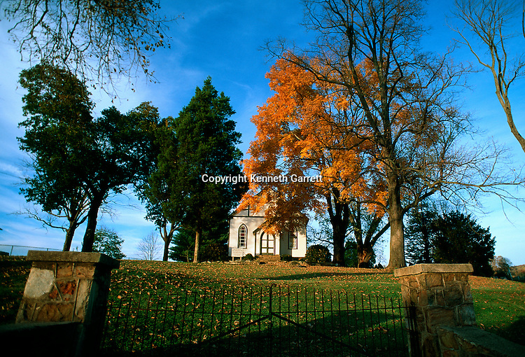 Virginia; Fauquier County; Hallowed Ground; Church, Little Georgetown